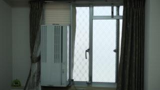 窓用エアコンで熱帯夜でも快眠