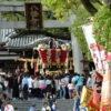 百舌鳥八幡宮 月見祭のふとん太鼓
