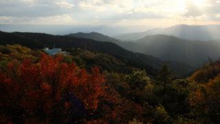 金剛山の紅葉ハイキング