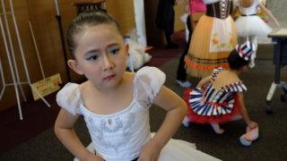 バレエ 子供の発表会に行きました