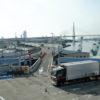 阪神高速道路の朝潮橋パーキングエリア